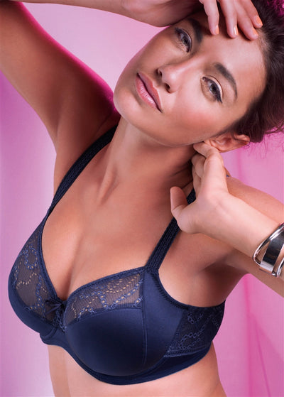 Prima Donna Twist Precieuse Full Cup Bra - Midnight Blue