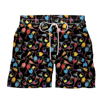 Le Club Original Printed Swim Shorts - Decopas