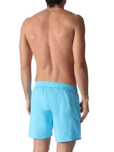 Diesel Men's Wave-E Quick Dry Fold-and-Go Swim Short 00SMNK0KAKV - Ink