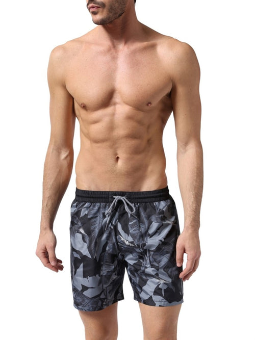 Diesel Men's Wave 2.017 Swim Shorts 00SV9U0LANU - Black/Grey