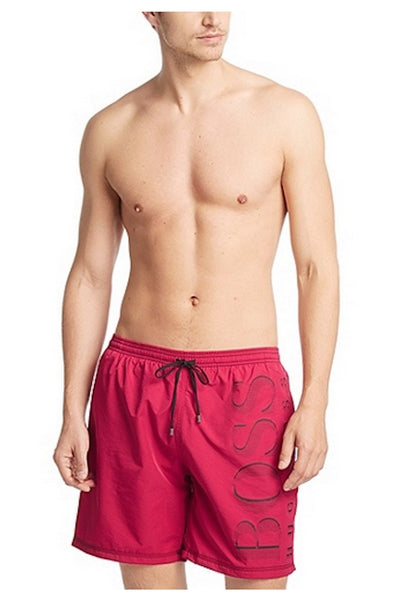 Hugo Boss Killifish Quick Dry Logo Board Shorts - Dark Pink