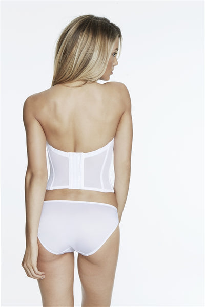 Dominique Seamless Longline Bridal Bra Bustier 8541
