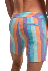 Mr. Turk Honolulu Striped Board Shorts M179106