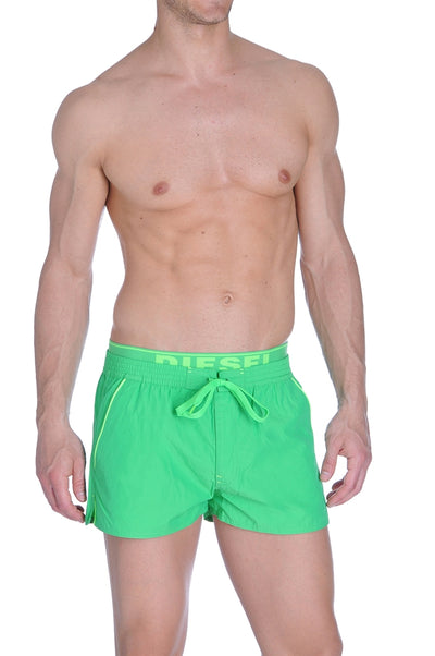 Diesel Barrely Swim Shorts -  Lime Green
