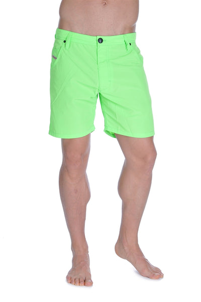 Diesel Kroobeach Swim Shorts - Lime Green