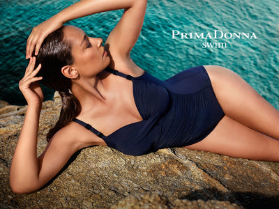 Prima Donna One Piece Swimsuit - Cocktail - Midnight Blue - 4000130