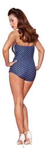 Girlhowdy Classic Sheath Retro Swimsuit - Sandy
