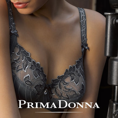 Prima Donna Deauville Full Cup Bra - Winter Grey