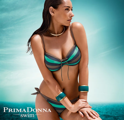 Prima Donna Swim Bikini Top - Punch - Golden Shadow / Curacao 4000518