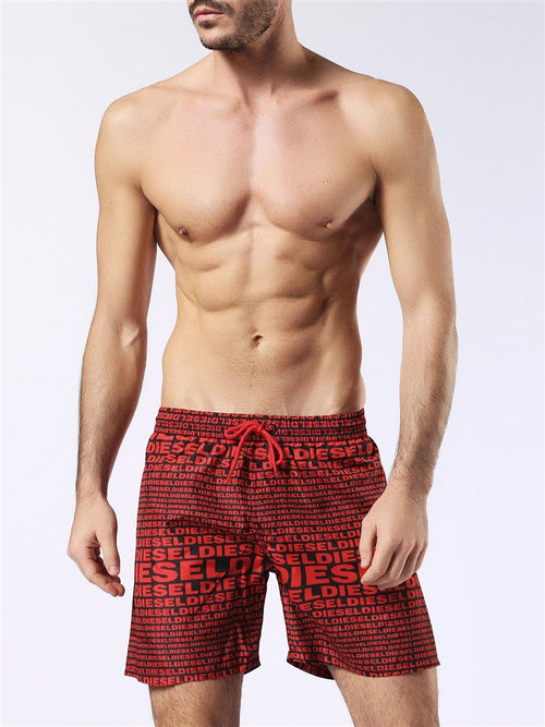 Diesel Wave 2.017 Swim Short 00SV9U0KAKW - Red