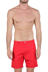 Diesel Men's WAYKEEKI-S Water Denim 00SP8E0AALY - Red
