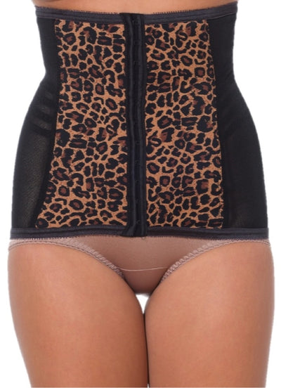 Rago Shapette Extra Firm Shaping Girdle Waist Cincher 821 - Leopard