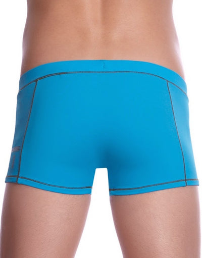 BWET Solaire Swim Boxers 14307 - Turquoise