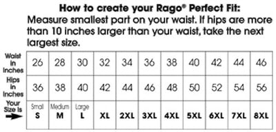 Rago Shapette Extra Firm Shaping Girdle Waist Cincher 821 - Black