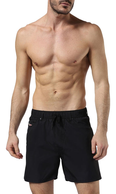 Diesel Men's Waykeeki 2.017 Swim Shorts 00SVCB0NAOL - Black