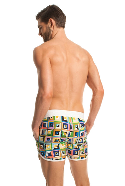 Mr. Turk Surfside Board Shorts - Multi
