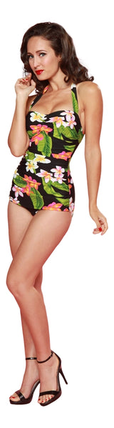 Esther Williams Classic Sheath Swim Suit - Carnival