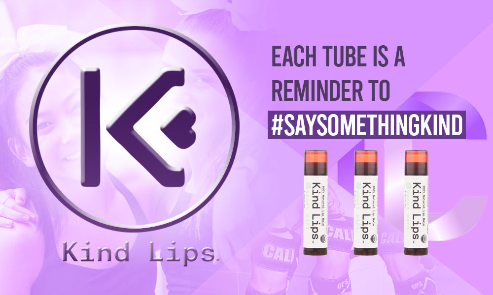 CheerLife Partners with Kind Lips Chapstick!