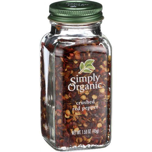 Simply Organic Crushed Red Pepper - Organic - 1.59 oz