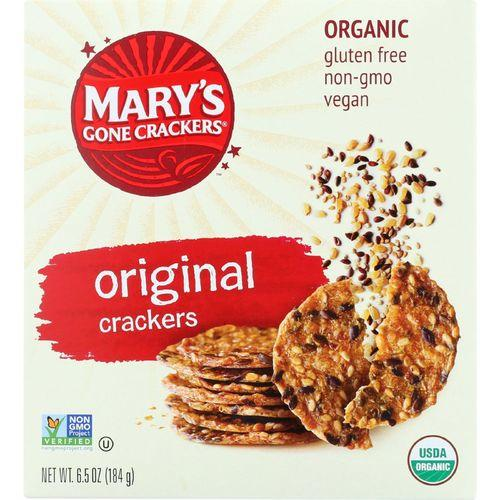 Marys Gone Crackers Crackers - Organic - Original - Wheat Free - Gluten Free - 6.5 oz - case of 12