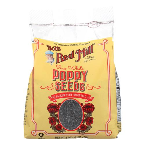 Bob's Red Mill Poppy Seeds - Natural - Case of 8 - 8 oz.