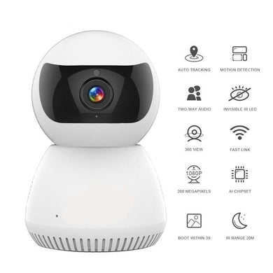 Wireless Camera Automatic Security Surveillance