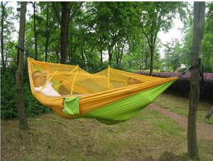 Ultralight Outdoor Camping Hammock with Mosquito net