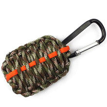 PARACORD GRENADE SURVIVAL KIT