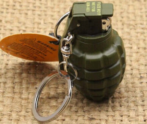 New ( No Gas) Key Ring Antitank Grenade Model Keychain Alloy