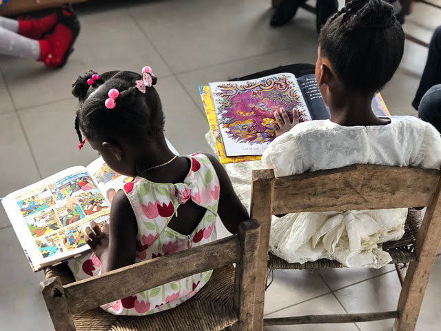 Haitian Library Donation Project: Children's Books for Haiti!