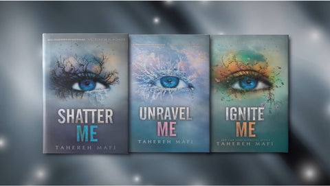 Order the Shatter Me Book Series from We Are LIT