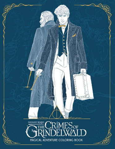 Fantastic Beasts: The Crimes of Grindelwald (Coloring Book)