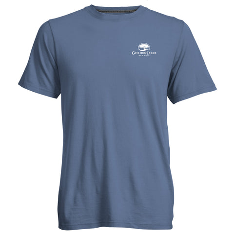 Golden Isles Go-To Tee Bluejay
