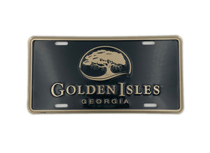 Golden Isles License Plate