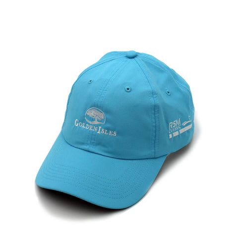 Golden Isles Co-Logo Performance Hat Light Blue