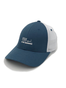 RSM Co-Logo Mesh Hat Breaker Blue