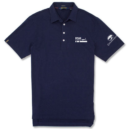 RSM Co-Logo Polo Navy
