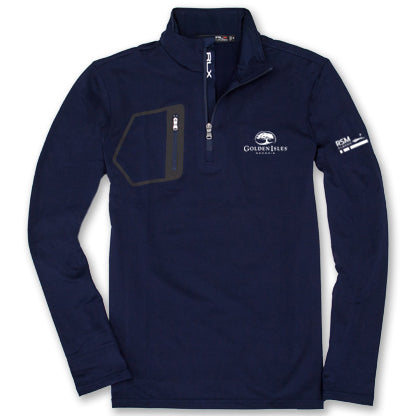 Golden Isles Co-Logo Pullover Navy