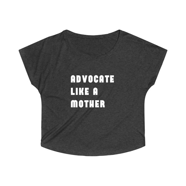 Advocate Like A Mother Off-the-shoulder Tee - The Rollie Pollie