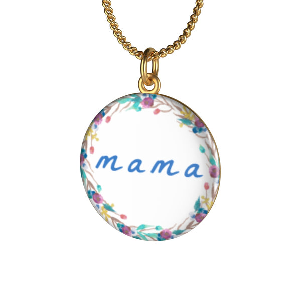 Mama Floral Necklace - The Rollie Pollie