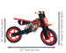 london-kate - Wooden Balance Bike - MotorBike style - The Rollie Pollie