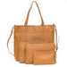 Bella Tunno - Boss Bag Cognac - The Rollie Pollie