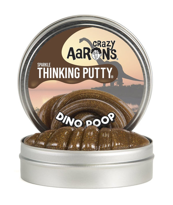 Crazy Aaron's Thinking Putty Dino Poop - The Rollie Pollie