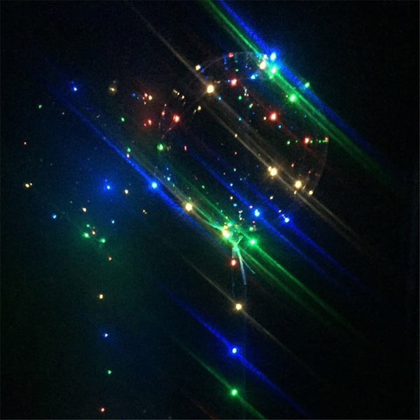 Clear Ballon with LED String Lights - The Rollie Pollie