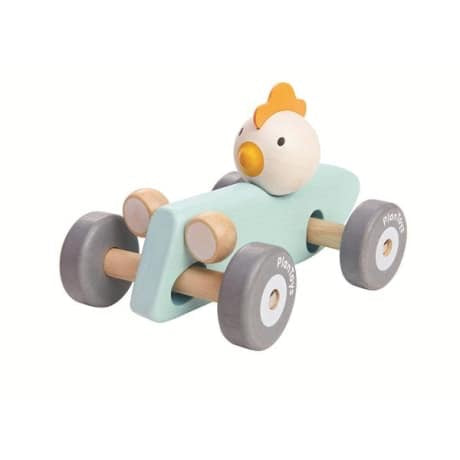 Chicken Racing Car - The Rollie Pollie