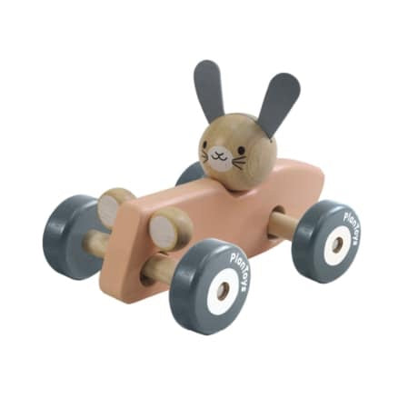 Bunny Racing Car - The Rollie Pollie
