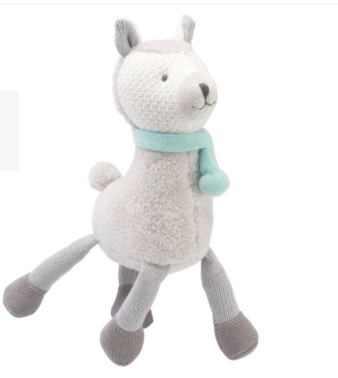 "Knittie - Llama 15"" - The Rollie Pollie"