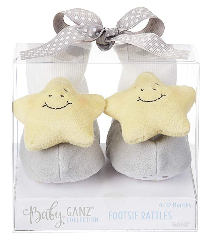 Over the moon footsie rattles - The Rollie Pollie