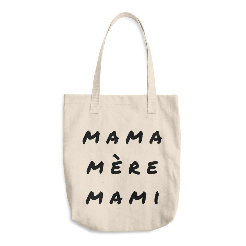 Mama Cotton Tote Bag - The Rollie Pollie