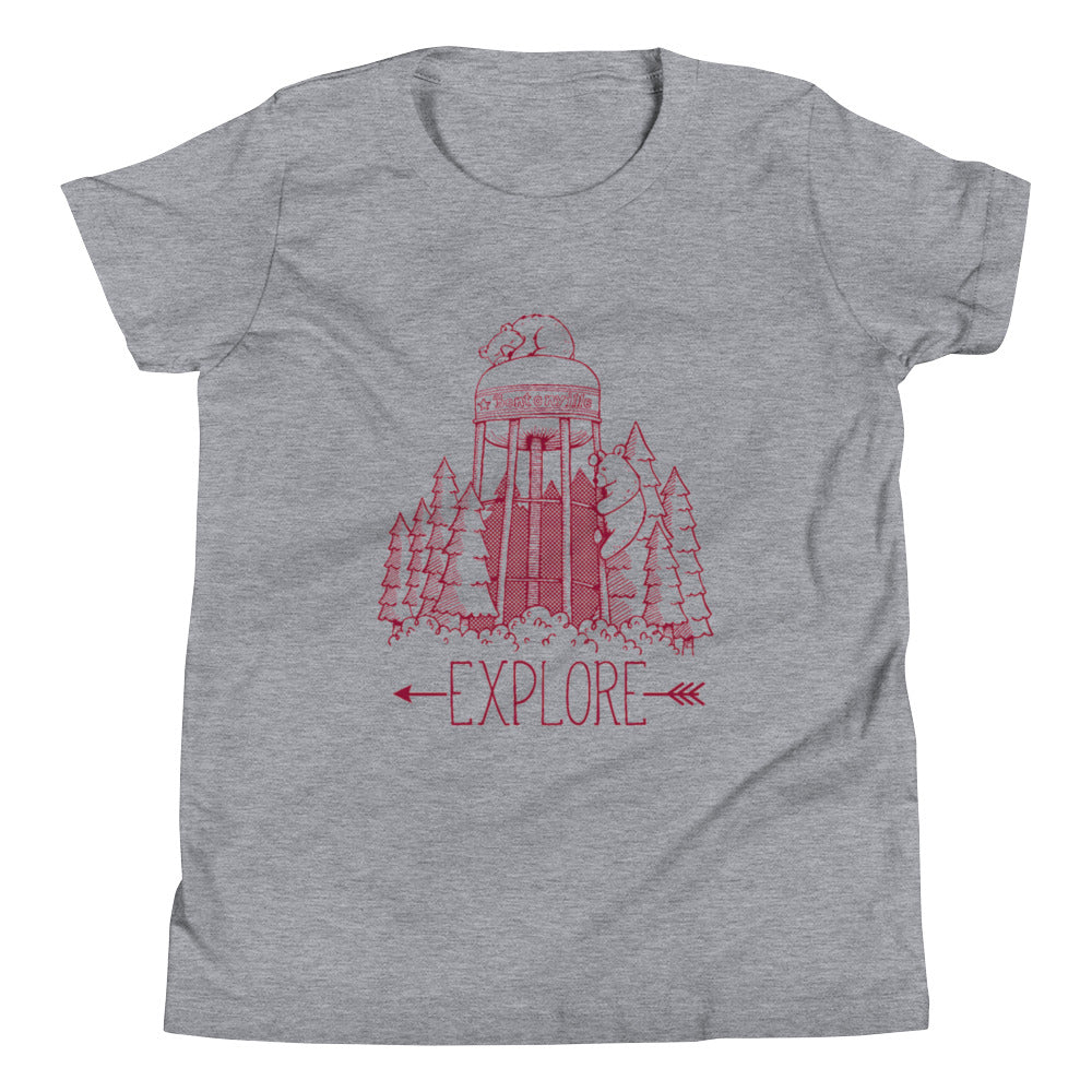 Explore Bentonville Youth Short Sleeve Tee